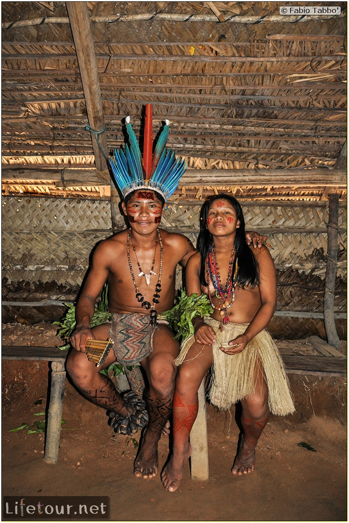 Fabio's LifeTour - Brazil (2015 April-June and October) - Manaus - Amazon Jungle - Indios village - 1- The village - 9008 cover