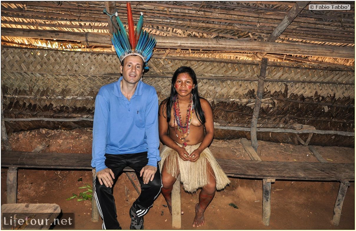 Fabio's LifeTour - Brazil (2015 April-June and October) - Manaus - Amazon Jungle - Indios village - 1- The village - 9076
