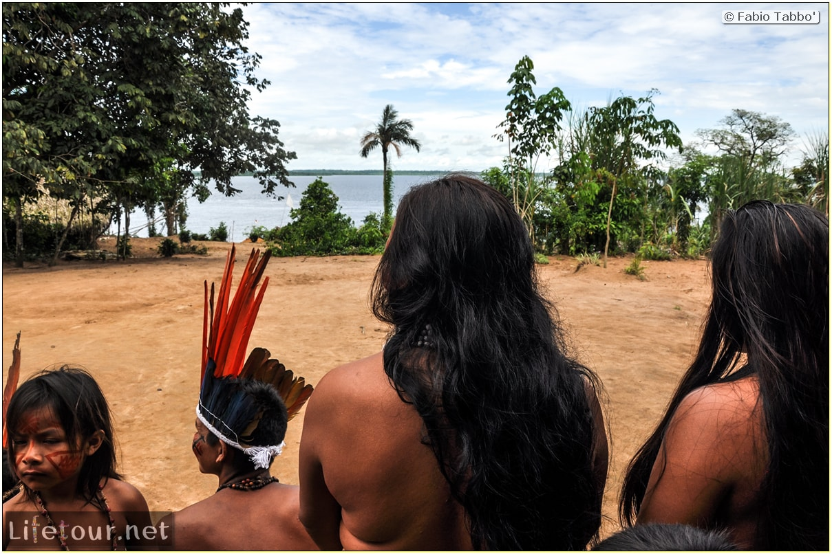 Fabio's LifeTour - Brazil (2015 April-June and October) - Manaus - Amazon Jungle - Indios village - 1- The village - 9315