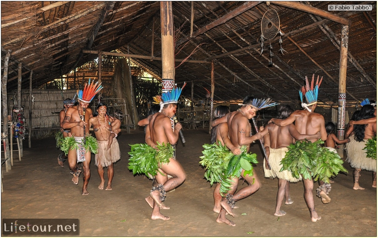 Fabio's LifeTour - Brazil (2015 April-June and October) - Manaus - Amazon Jungle - Indios village - 2- ceremonial dancing - 8282 cover