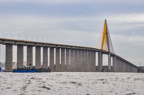 Fabio's LifeTour - Brazil (2015 April-June and October) - Manaus - Amazon Jungle - Manaus bridge - 2567 cover