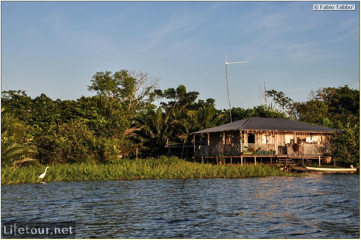 Fabio's LifeTour - Brazil (2015 April-June and October) - Manaus - Amazon Jungle - Sunrise on the Amazon - 10731