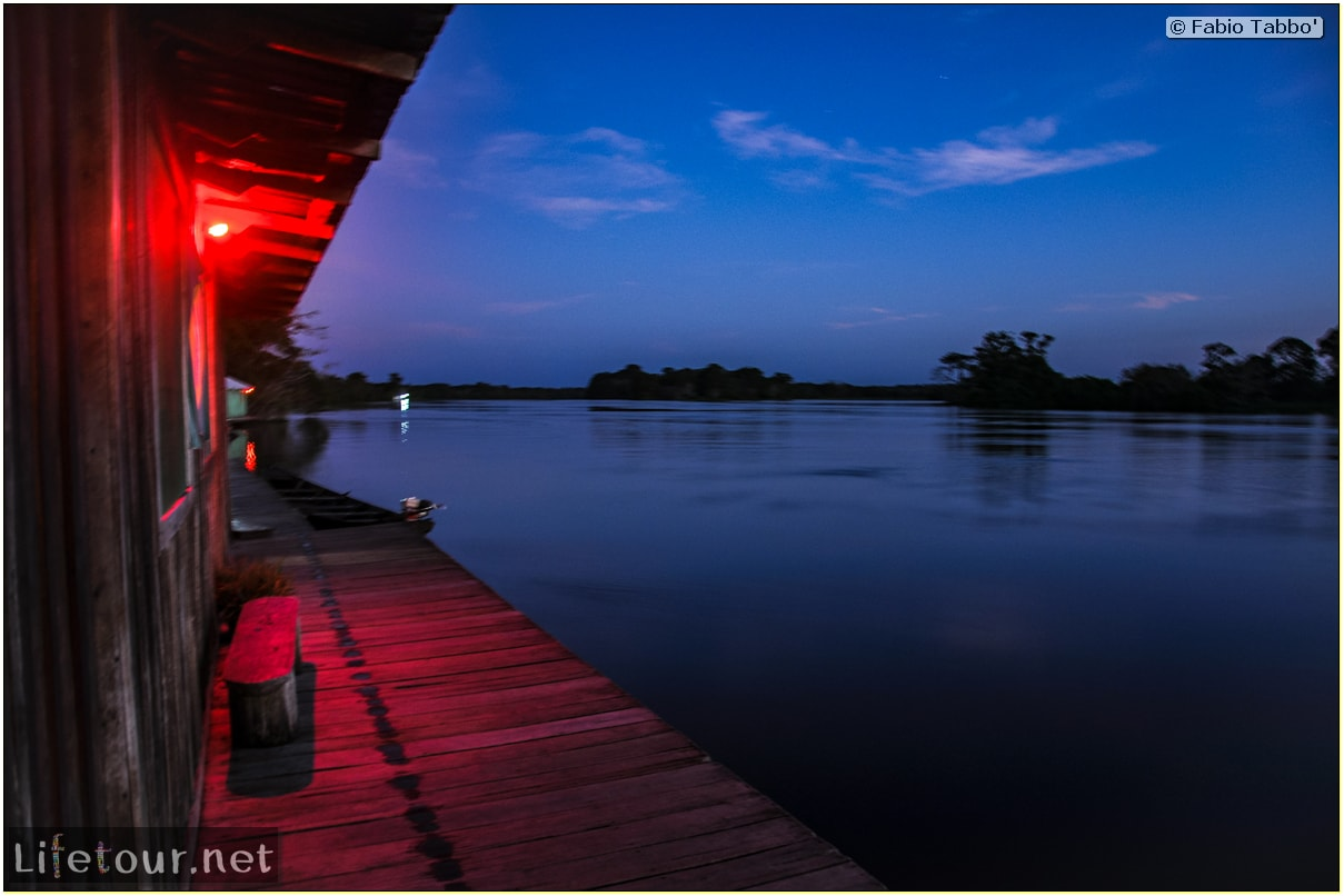 Fabio's LifeTour - Brazil (2015 April-June and October) - Manaus - Amazon Jungle - Sunrise on the Amazon - 8835
