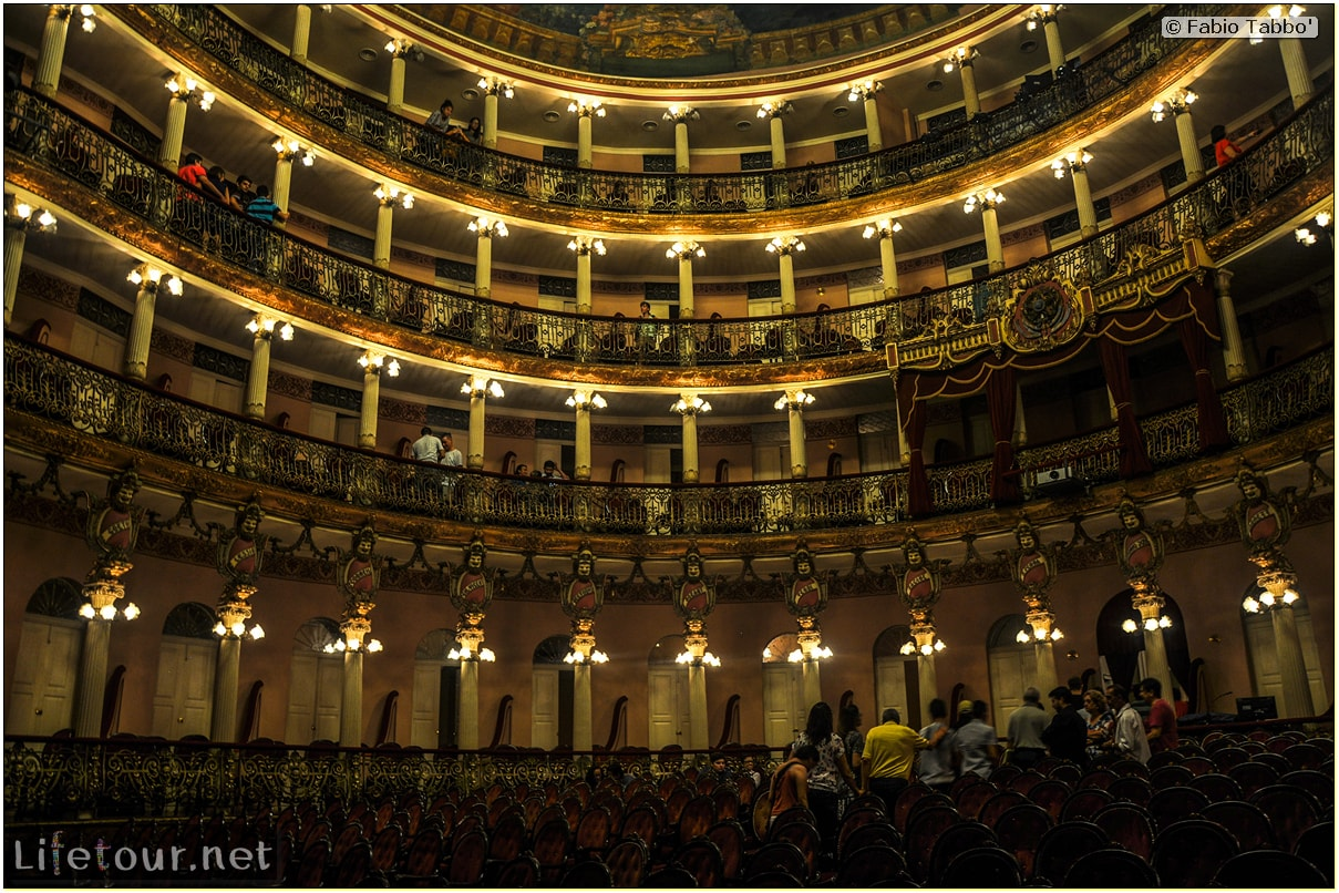 Fabio's LifeTour - Brazil (2015 April-June and October) - Manaus - City - Teatro Amazonas - Medieval music show - 5492