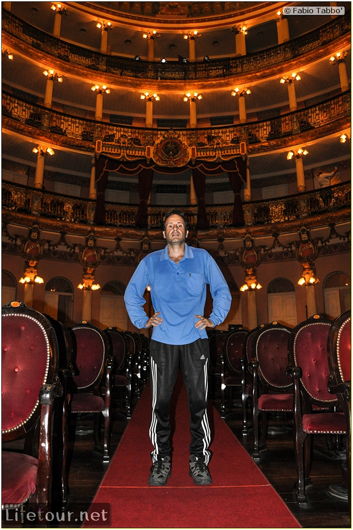 Fabio's LifeTour - Brazil (2015 April-June and October) - Manaus - City - Teatro Amazonas - Medieval music show - 5857