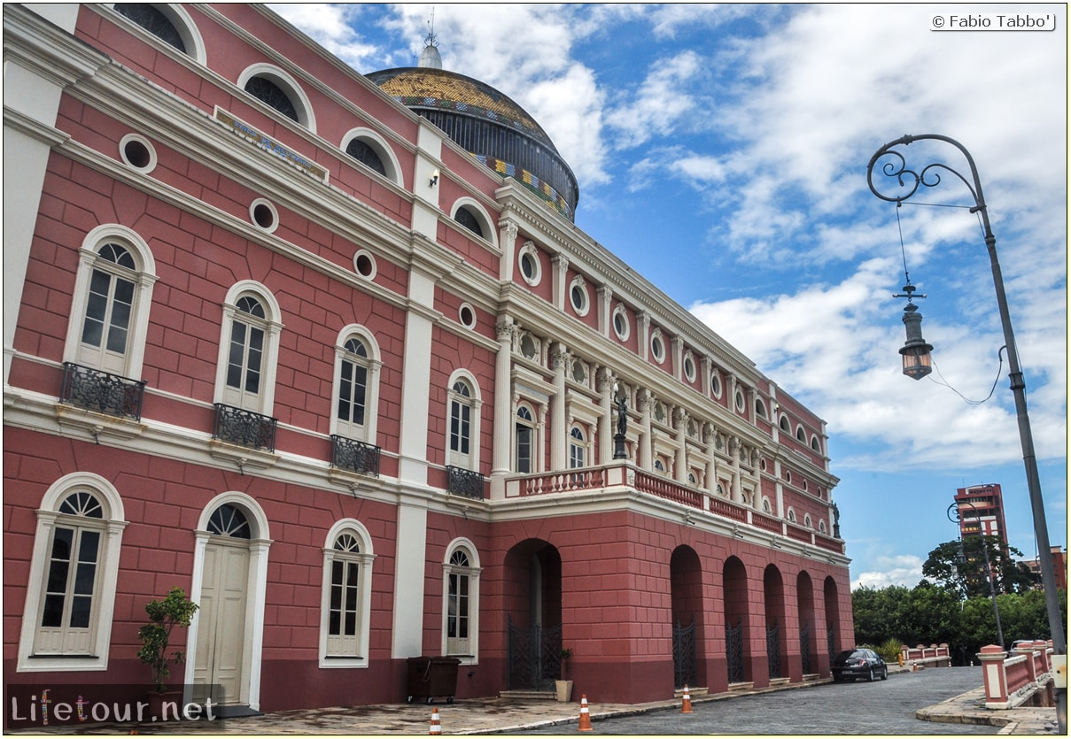 Fabio's LifeTour - Brazil (2015 April-June and October) - Manaus - City - Teatro Amazonas - exterior - 2295