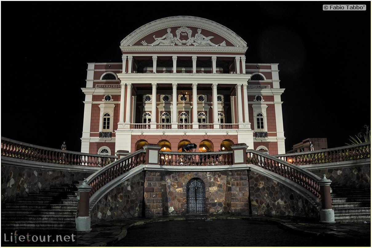 Fabio's LifeTour - Brazil (2015 April-June and October) - Manaus - City - Teatro Amazonas - exterior - 2351 cover