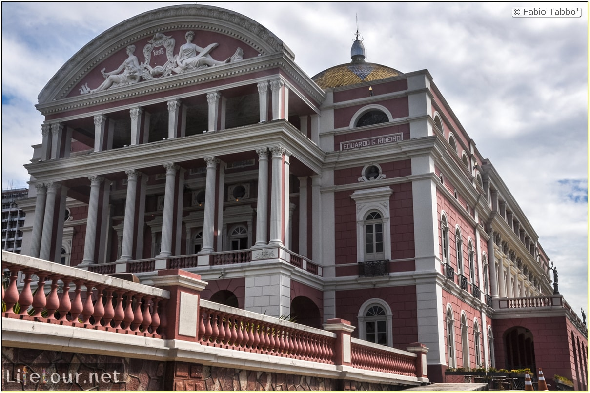 Fabio's LifeTour - Brazil (2015 April-June and October) - Manaus - City - Teatro Amazonas - exterior - 4008