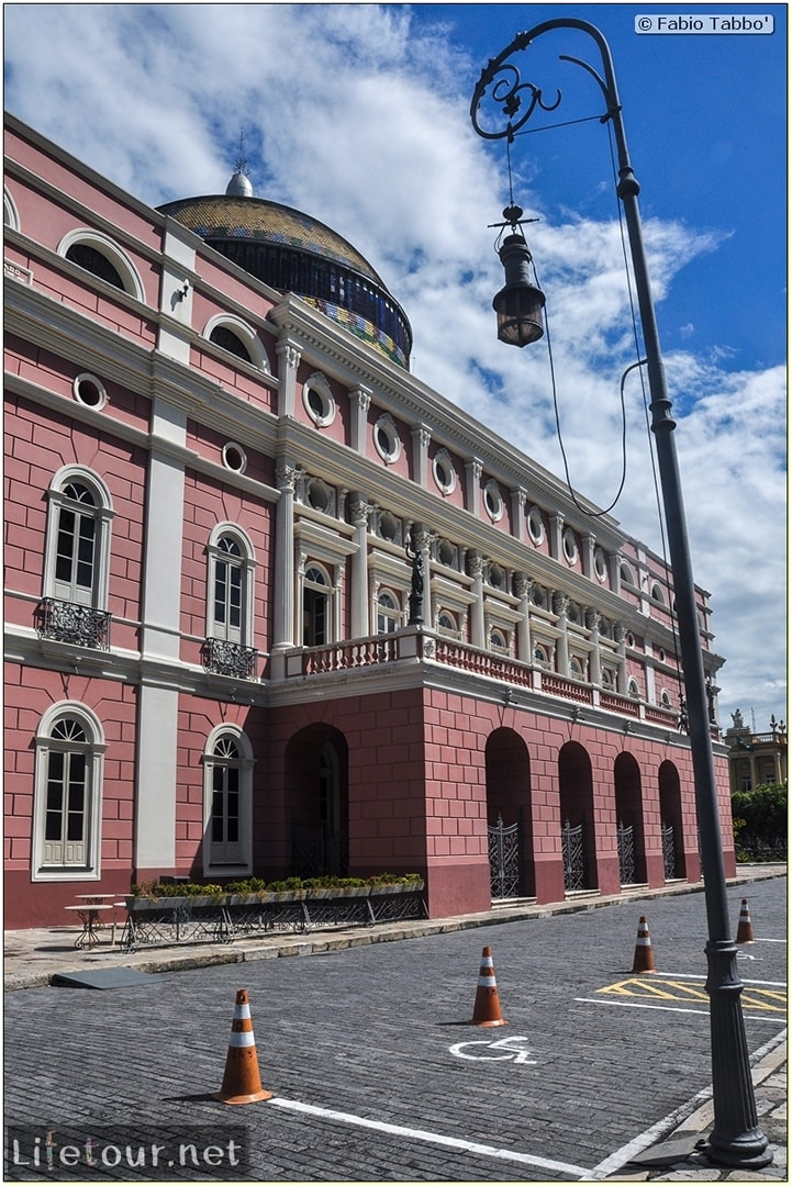 Fabio's LifeTour - Brazil (2015 April-June and October) - Manaus - City - Teatro Amazonas - exterior - 4620 cover