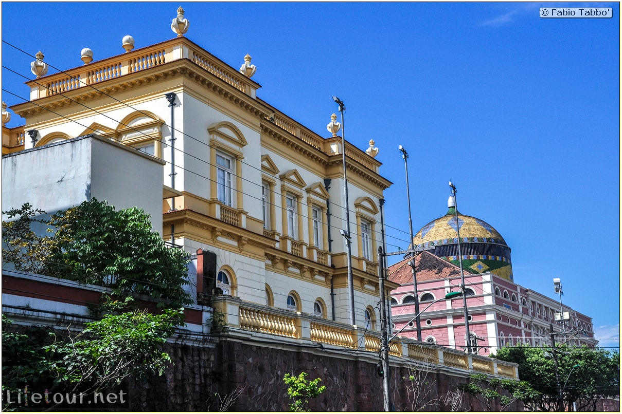 Fabio's LifeTour - Brazil (2015 April-June and October) - Manaus - City - Teatro Amazonas - exterior - 4960