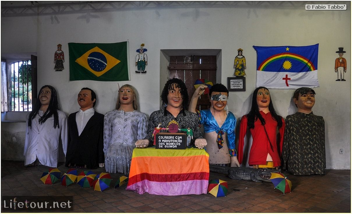 Fabio's LifeTour - Brazil (2015 April-June and October) - Olinda - Giants Carnival Dolls of Olinda - 7845 cover