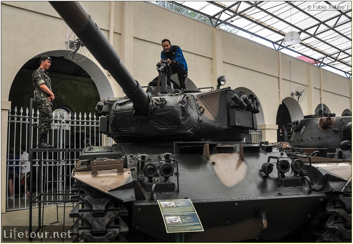 Fabio's LifeTour - Brazil (2015 April-June and October) - Porto Alegre - Military Museum - 10435