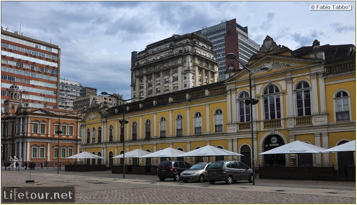 Fabio's LifeTour - Brazil (2015 April-June and October) - Porto Alegre - Other pictures historical center - 8666