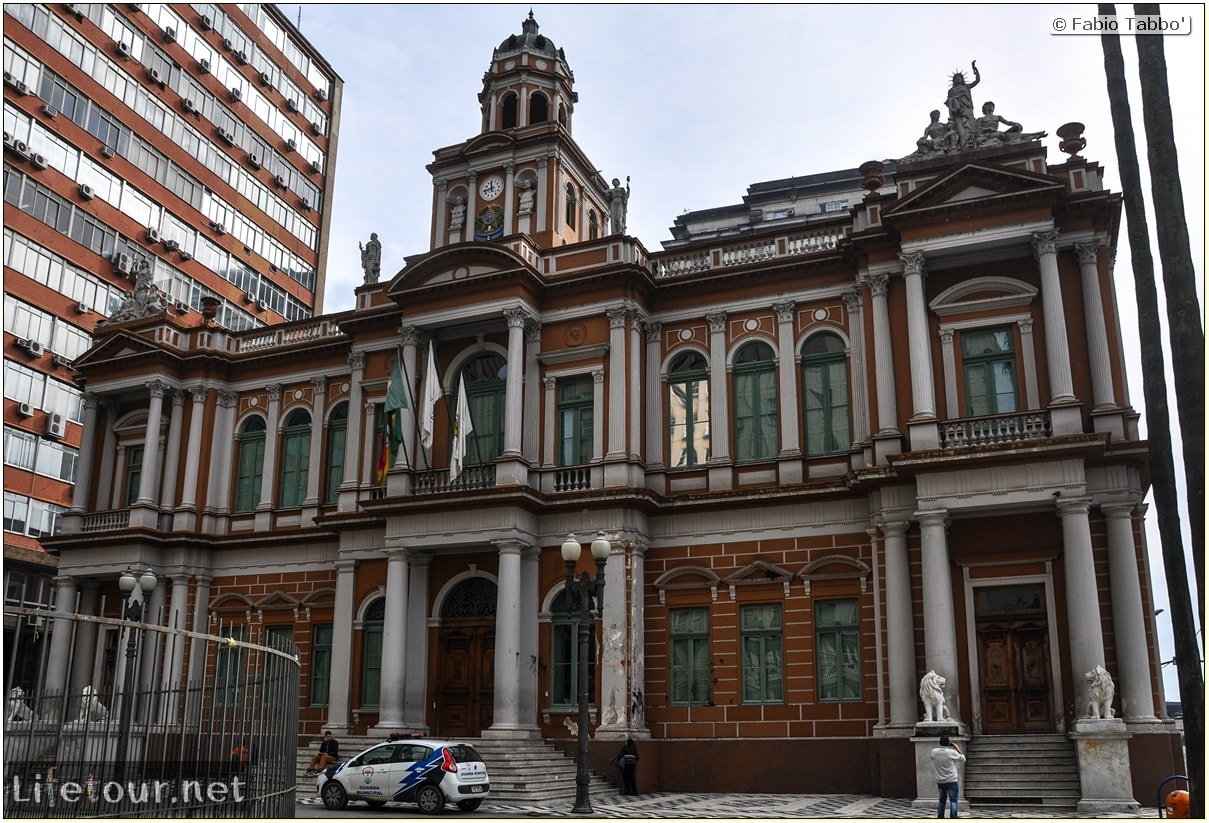 Fabio's LifeTour - Brazil (2015 April-June and October) - Porto Alegre - Other pictures historical center - 8766