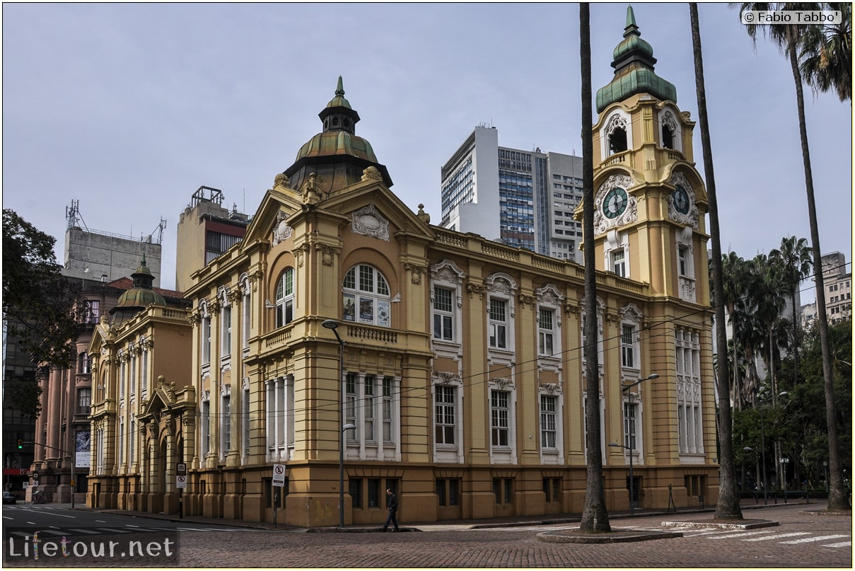 Fabio's LifeTour - Brazil (2015 April-June and October) - Porto Alegre - Other pictures historical center - 9118