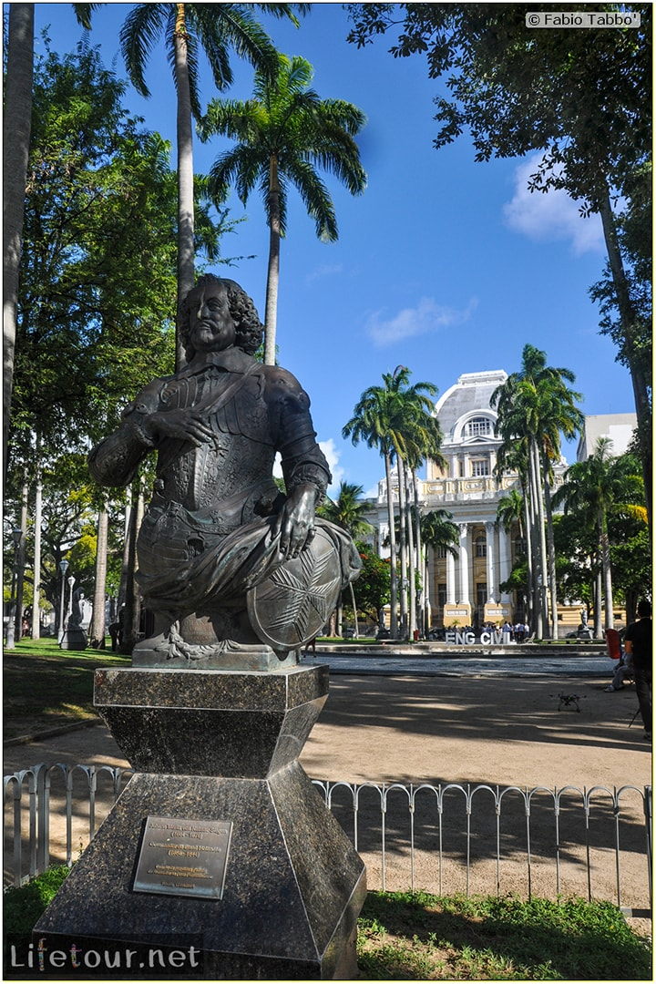 Fabio's LifeTour - Brazil (2015 April-June and October) - Recife - Recife Antigo - Praça da República - 6128 cover