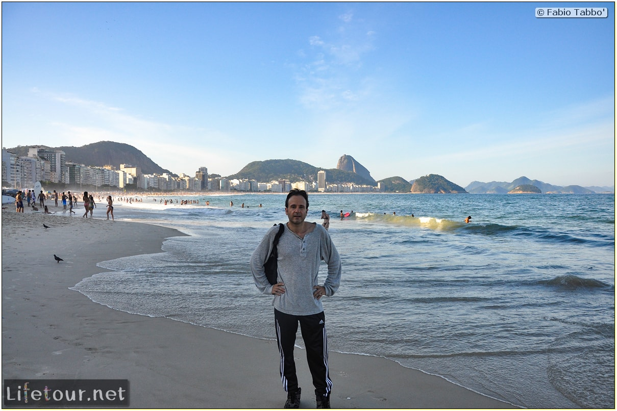 Fabio's LifeTour - Brazil (2015 April-June and October) - Rio De Janeiro - Copacabana beach - 4484