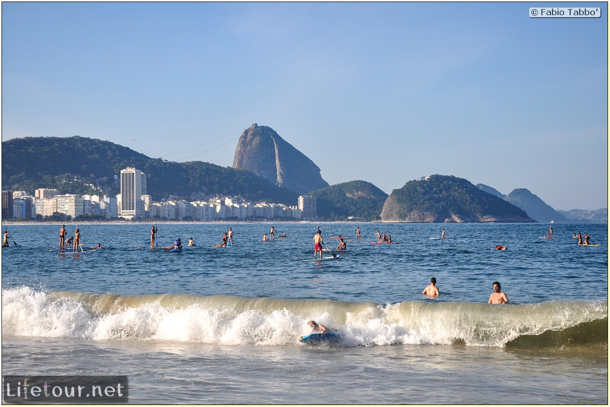 Fabio's LifeTour - Brazil (2015 April-June and October) - Rio De Janeiro - Copacabana beach - 4832 cover