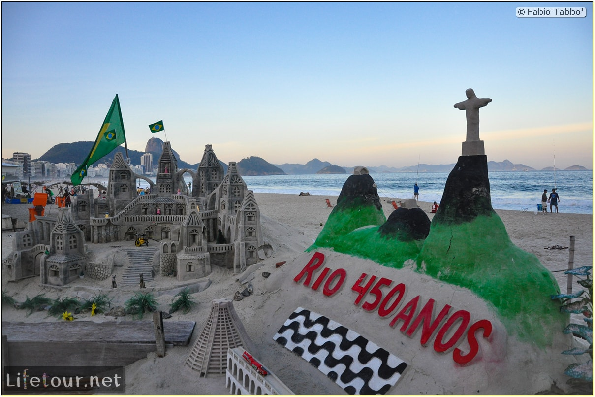 Fabio's LifeTour - Brazil (2015 April-June and October) - Rio De Janeiro - Copacabana beach - 7184