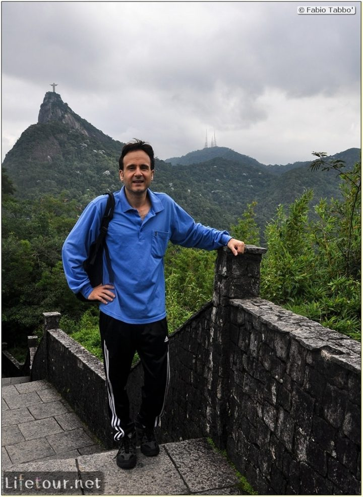Fabio's LifeTour - Brazil (2015 April-June and October) - Rio De Janeiro - Corcovado - Level 1 - panoramic views - 2460