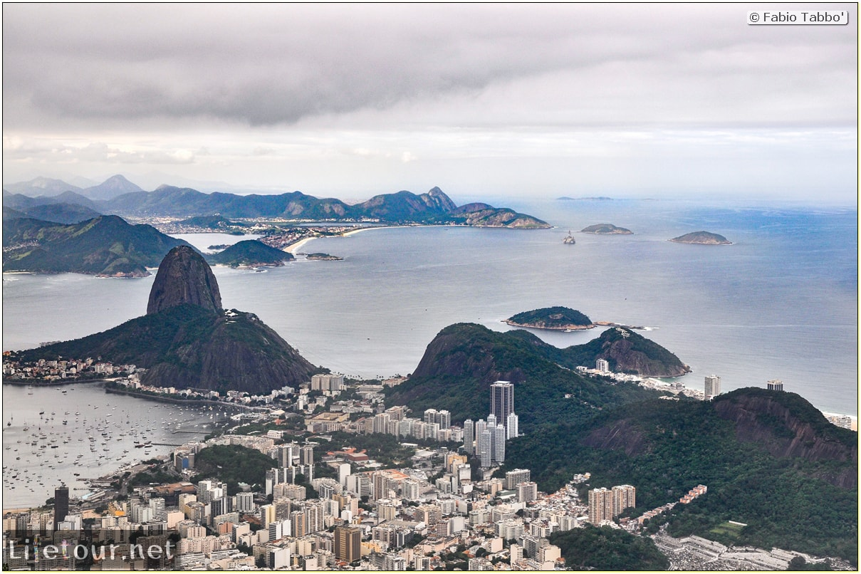 Fabio's LifeTour - Brazil (2015 April-June and October) - Rio De Janeiro - Corcovado - Level 2 - Christ statue - 5975