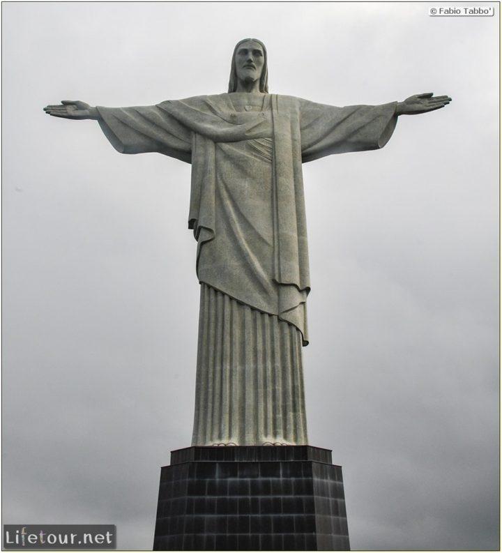 Fabio's LifeTour - Brazil (2015 April-June and October) - Rio De Janeiro - Corcovado - Level 2 - Christ statue - 6831