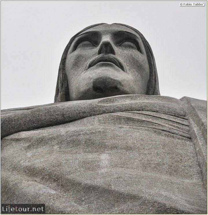 Fabio's LifeTour - Brazil (2015 April-June and October) - Rio De Janeiro - Corcovado - Level 2 - Christ statue - 7563