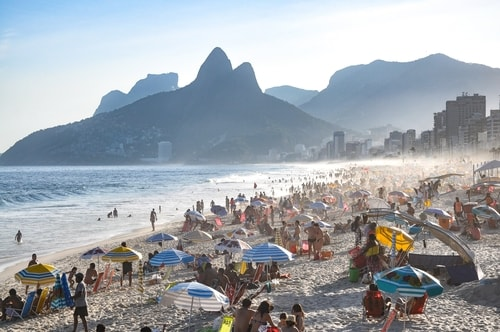 Fabio's LifeTour - Brazil (2015 April-June and October) - Rio De Janeiro - Ipanema beach - 5571 cover