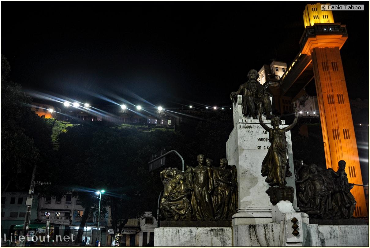 Fabio's LifeTour - Brazil (2015 April-June and October) - Salvador de Bahia - Lower city - Elevador Lacerda - 9142 cover