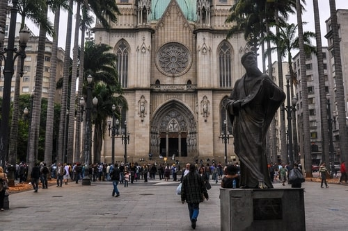 Fabio's LifeTour - Brazil (2015 April-June and October) - Sao Paulo - Sao Paolo Cathedral - 2288 cover
