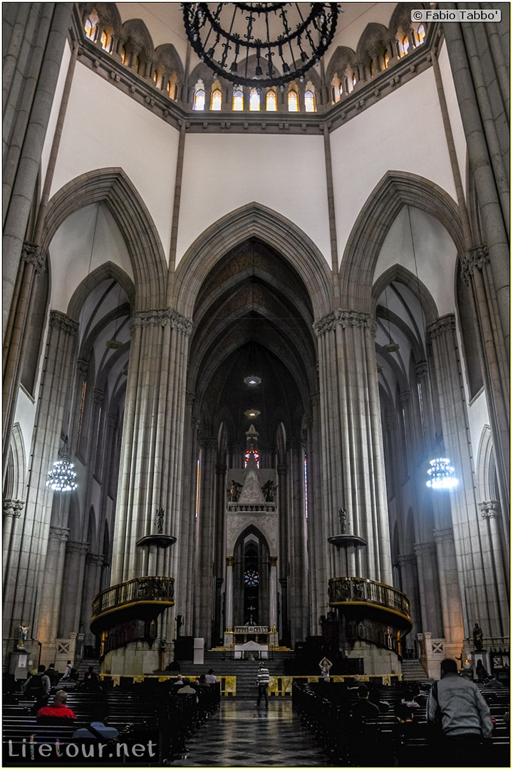 Fabio's LifeTour - Brazil (2015 April-June and October) - Sao Paulo - Sao Paolo Cathedral - 2456