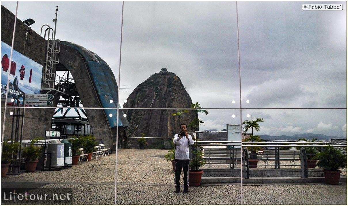 Rio De Janeiro - Trilha Do P¦o De Açúcar - 2- panoramic views on first station - 669