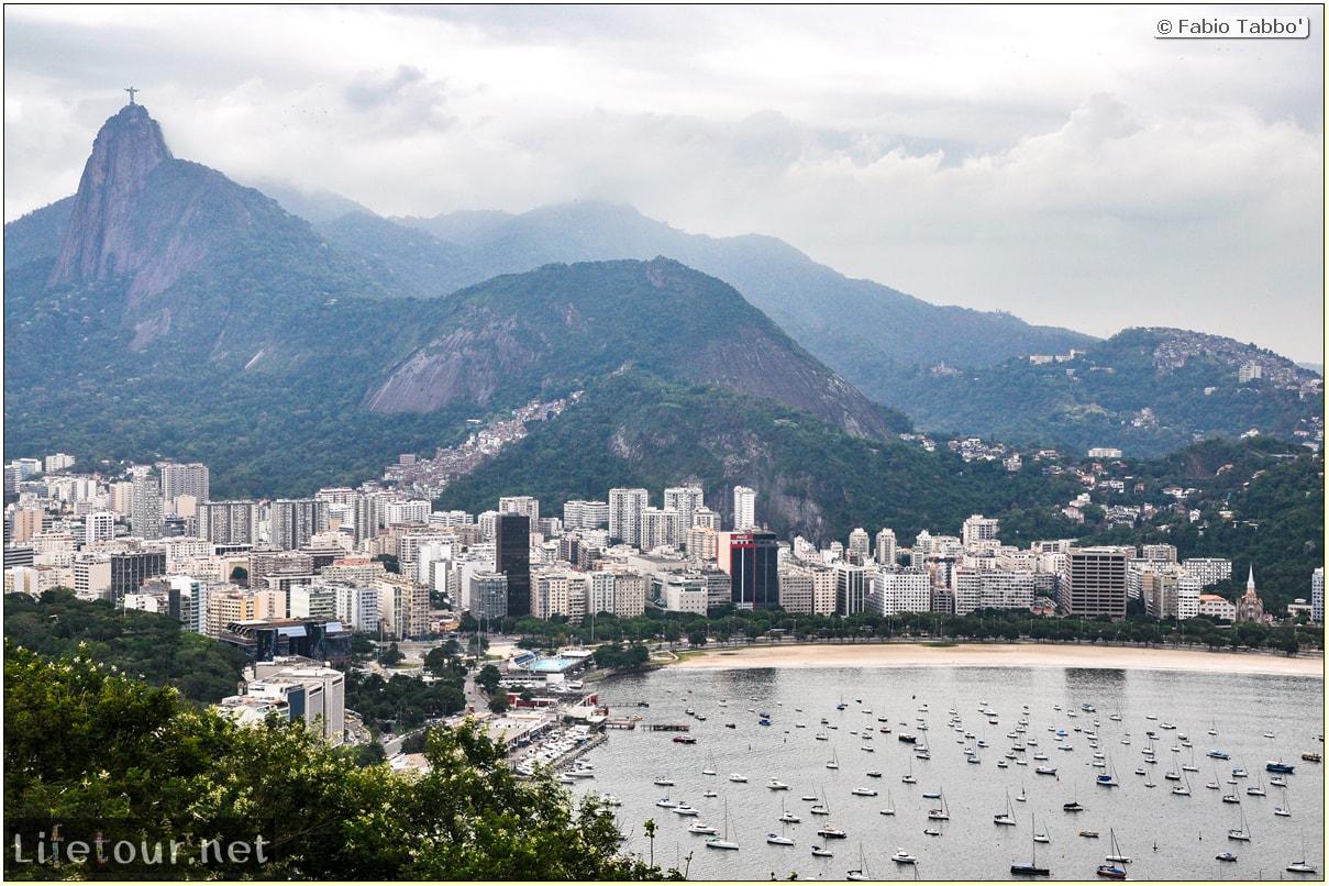 Rio De Janeiro - Trilha Do P¦o De Açúcar - 2- panoramic views on first station - 936