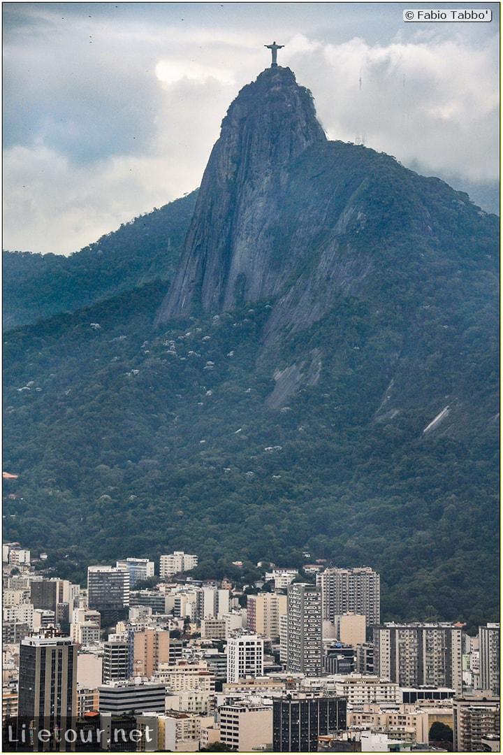 Rio De Janeiro - Trilha Do P¦o De Açúcar - 2- panoramic views on first station - 987