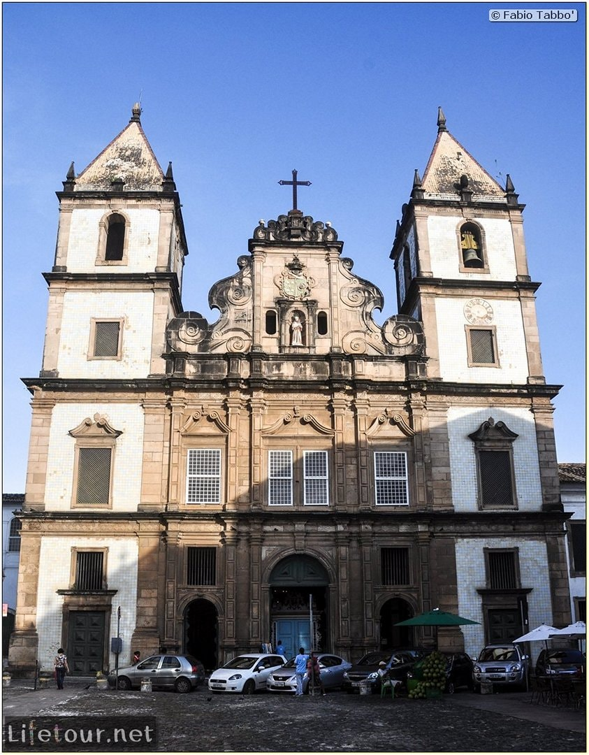 Salvador de Bahia - Upper city (Pelourinho) - Church of S¦o Francisco - 970