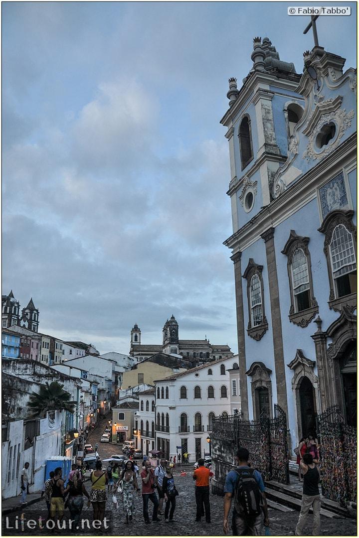 Salvador de Bahia - Upper city (Pelourinho) - Igreja de Nossa Senhora do Rosário dos Pretos - 804