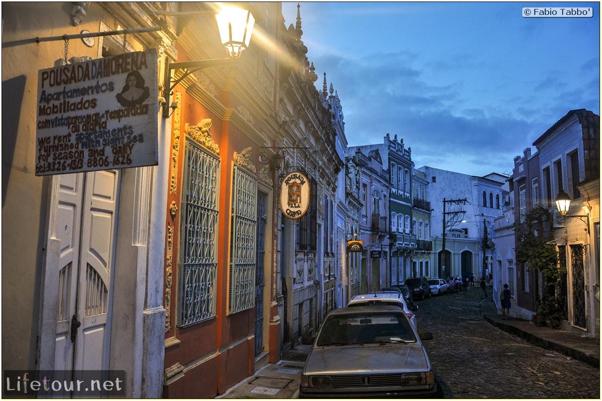 Salvador de Bahia - Upper city (Pelourinho) - other pictures of Historical center - 734