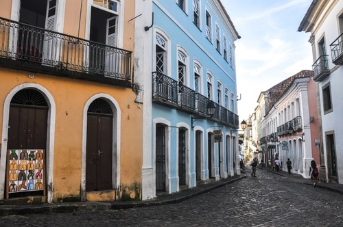 Salvador de Bahia - Upper city (Pelourinho) - other pictures of Historical center - 862 cover