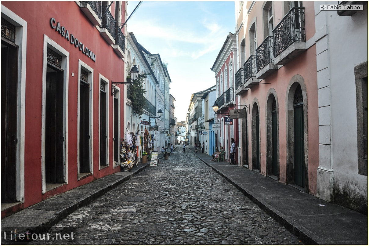 Salvador de Bahia - Upper city (Pelourinho) - other pictures of Historical center - 878