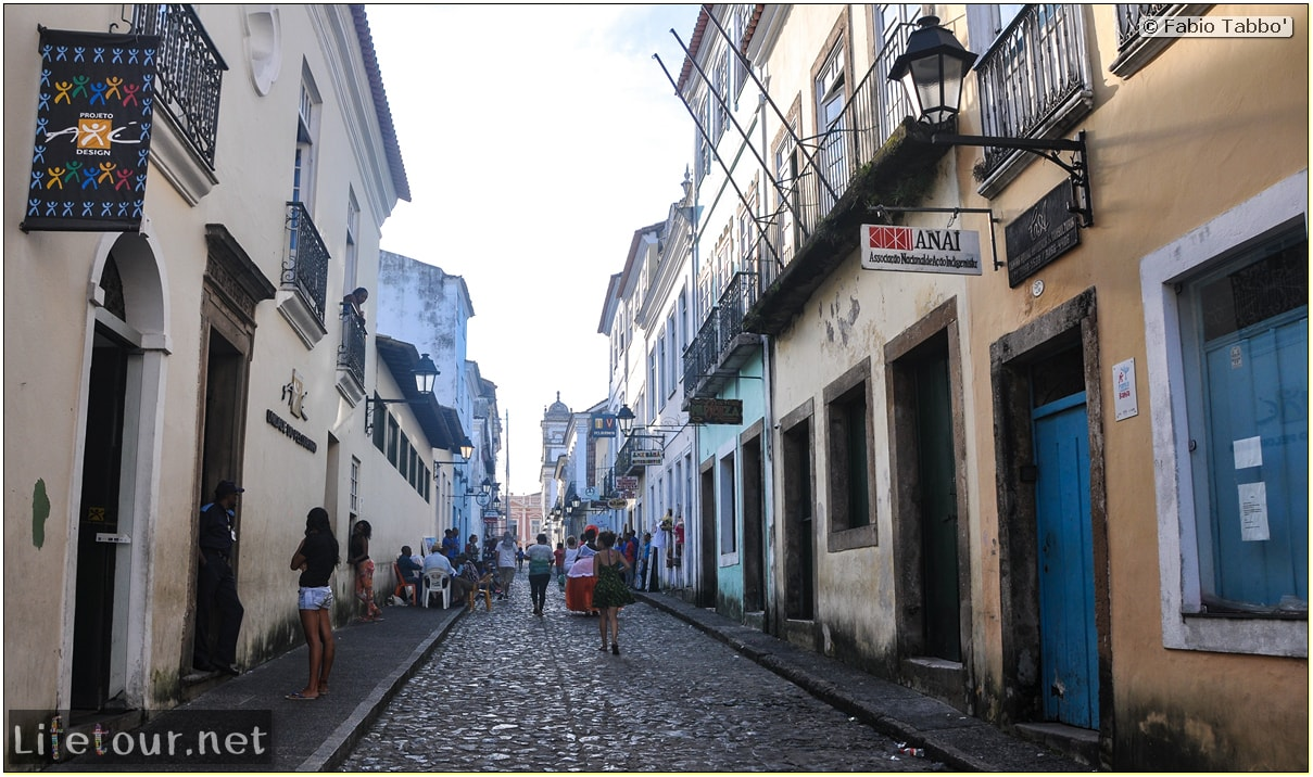 Salvador de Bahia - Upper city (Pelourinho) - other pictures of Historical center - 921