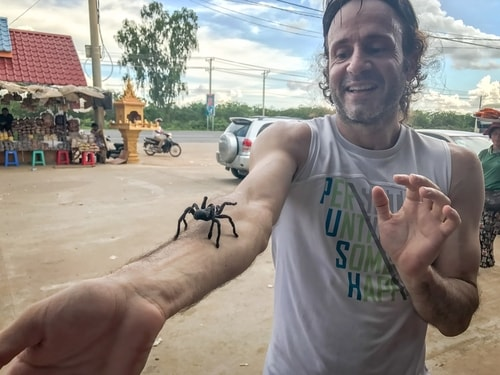 Fabio_s-LifeTour---Cambodia-(2017-July-August)---Skun---Playing-with-tarantulas-(and-eating-them-afterwards)---18383-cover