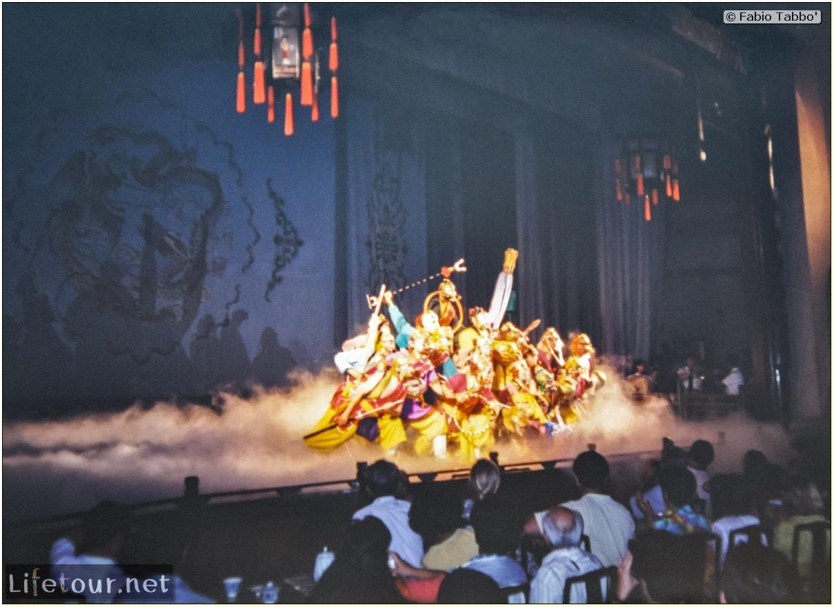 Fabio's LifeTour - China (1993-1997 and 2014) - Beijing (1993-1997 and 2014) - Tourism - Chinese Opera (1993) -12788