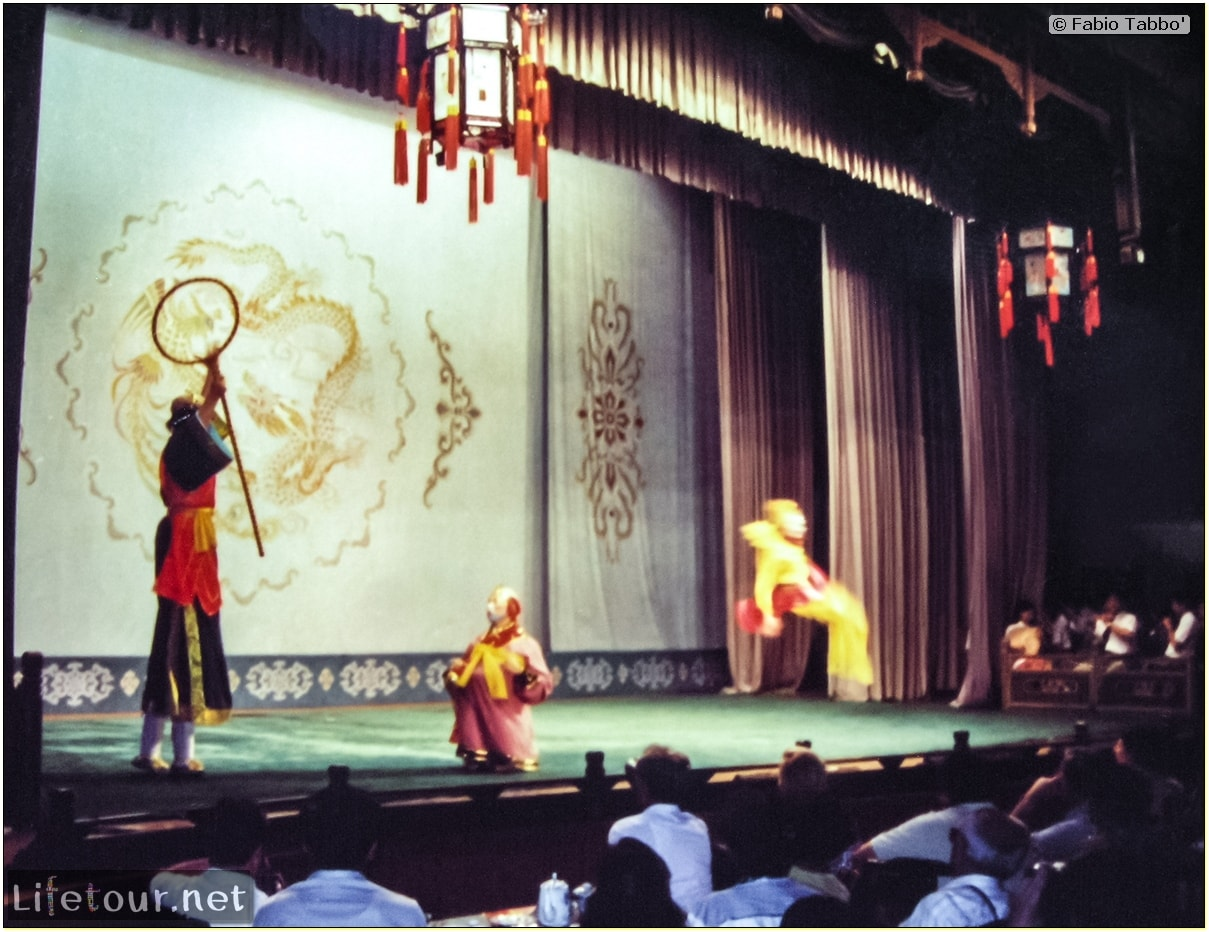 Fabio's LifeTour - China (1993-1997 and 2014) - Beijing (1993-1997 and 2014) - Tourism - Chinese Opera (1993) - 19863