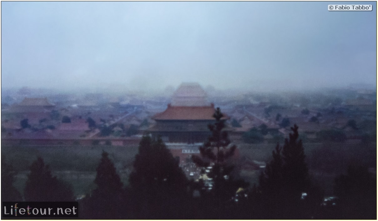 Fabio's LifeTour - China (1993-1997 and 2014) - Beijing (1993-1997 and 2014) - Tourism - Forbidden City (1993) - 19857