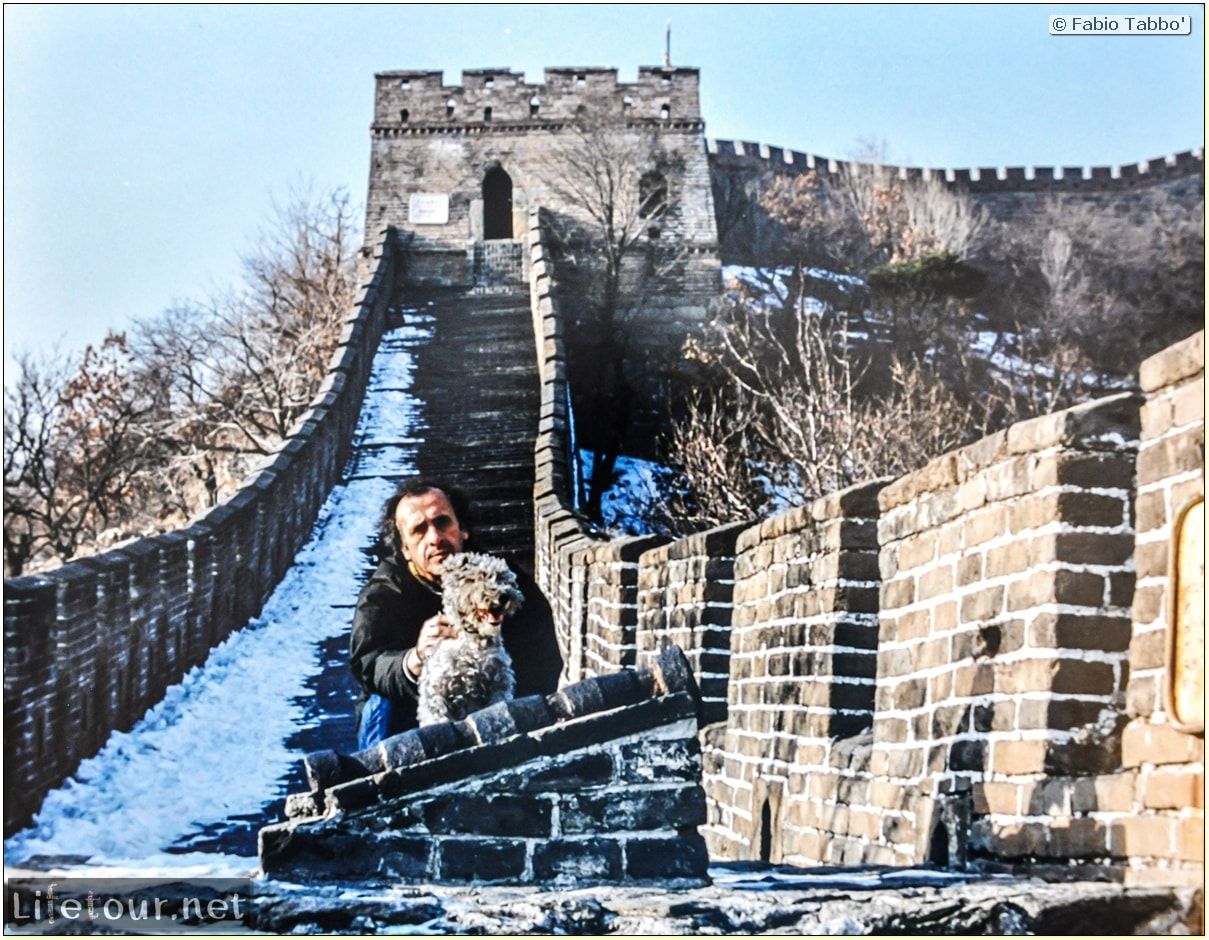 Fabio's LifeTour - China (1993-1997 and 2014) - Beijing (1993-1997 and 2014) - Tourism - Great Wall (1993) - 13046