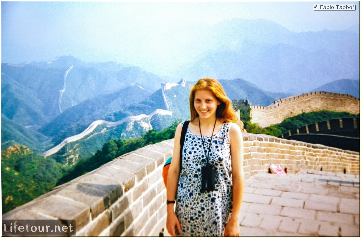 Fabio's LifeTour - China (1993-1997 and 2014) - Beijing (1993-1997 and 2014) - Tourism - Great Wall (1993) - 13100