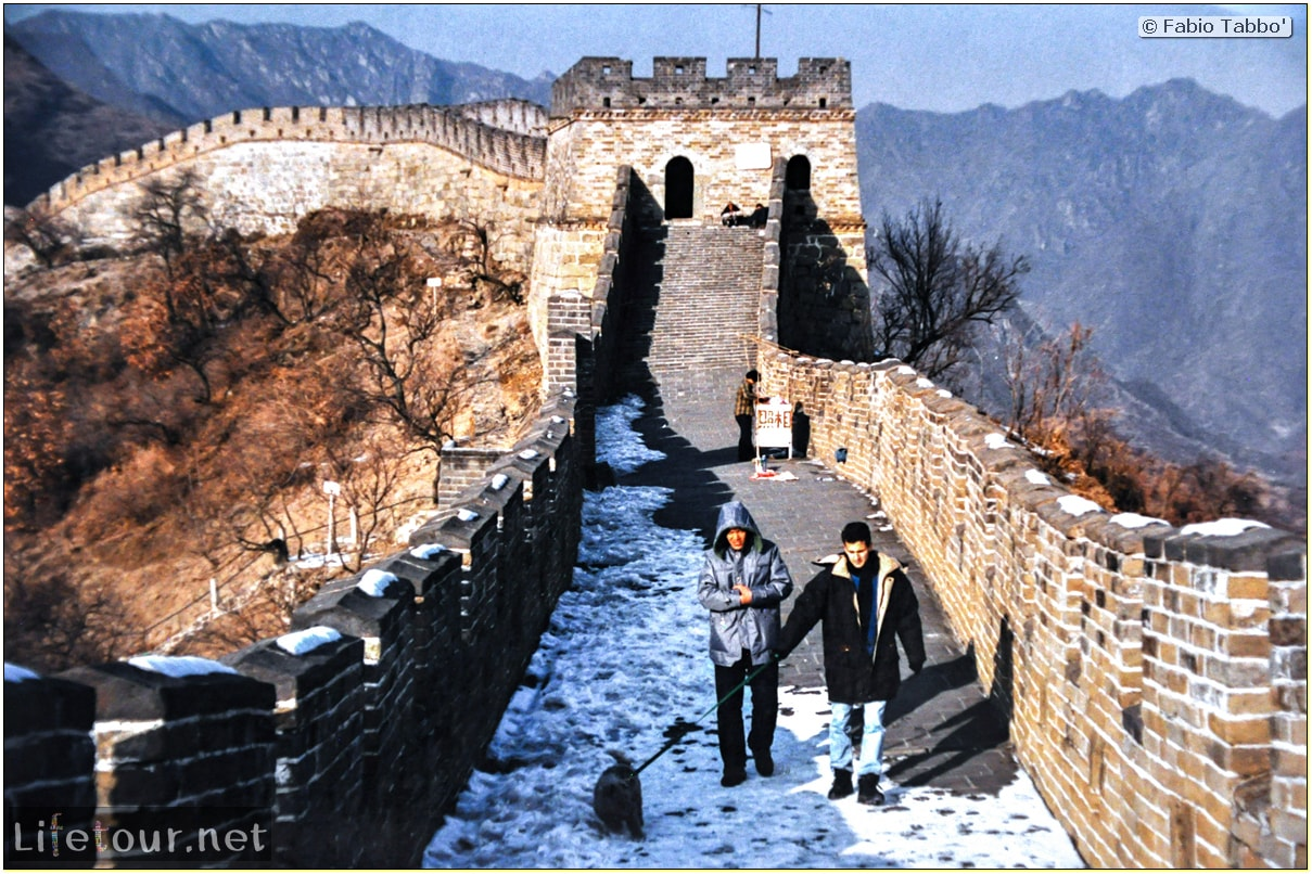 Fabio's LifeTour - China (1993-1997 and 2014) - Beijing (1993-1997 and 2014) - Tourism - Great Wall (1993) - 13265