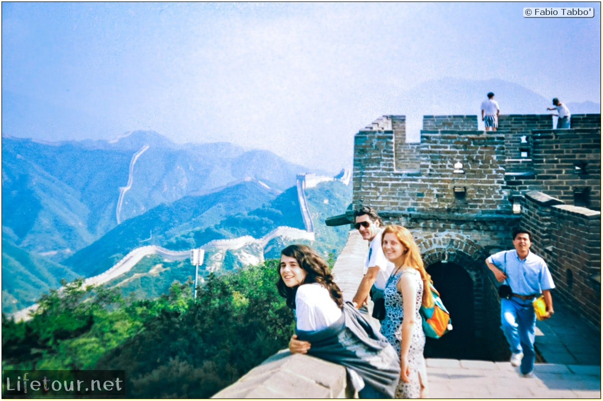Fabio's LifeTour - China (1993-1997 and 2014) - Beijing (1993-1997 and 2014) - Tourism - Great Wall (1993) - 13325