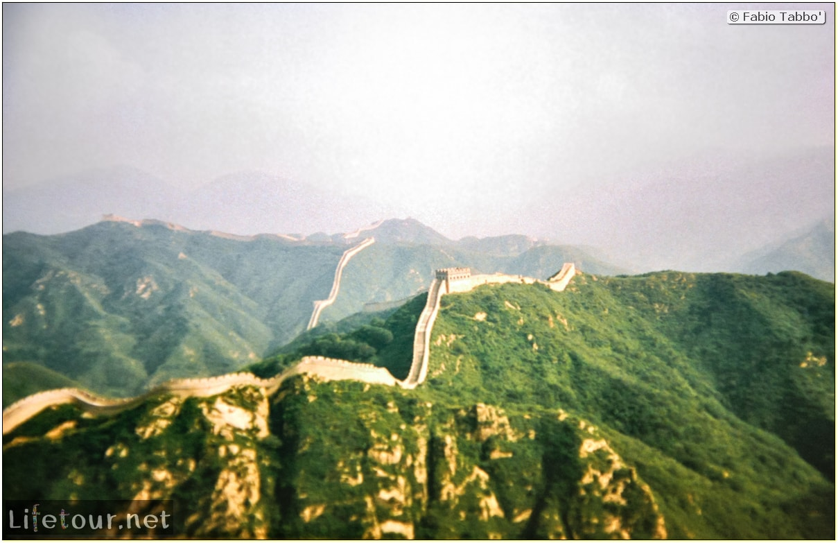 Fabio's LifeTour - China (1993-1997 and 2014) - Beijing (1993-1997 and 2014) - Tourism - Great Wall (1993) - 13330