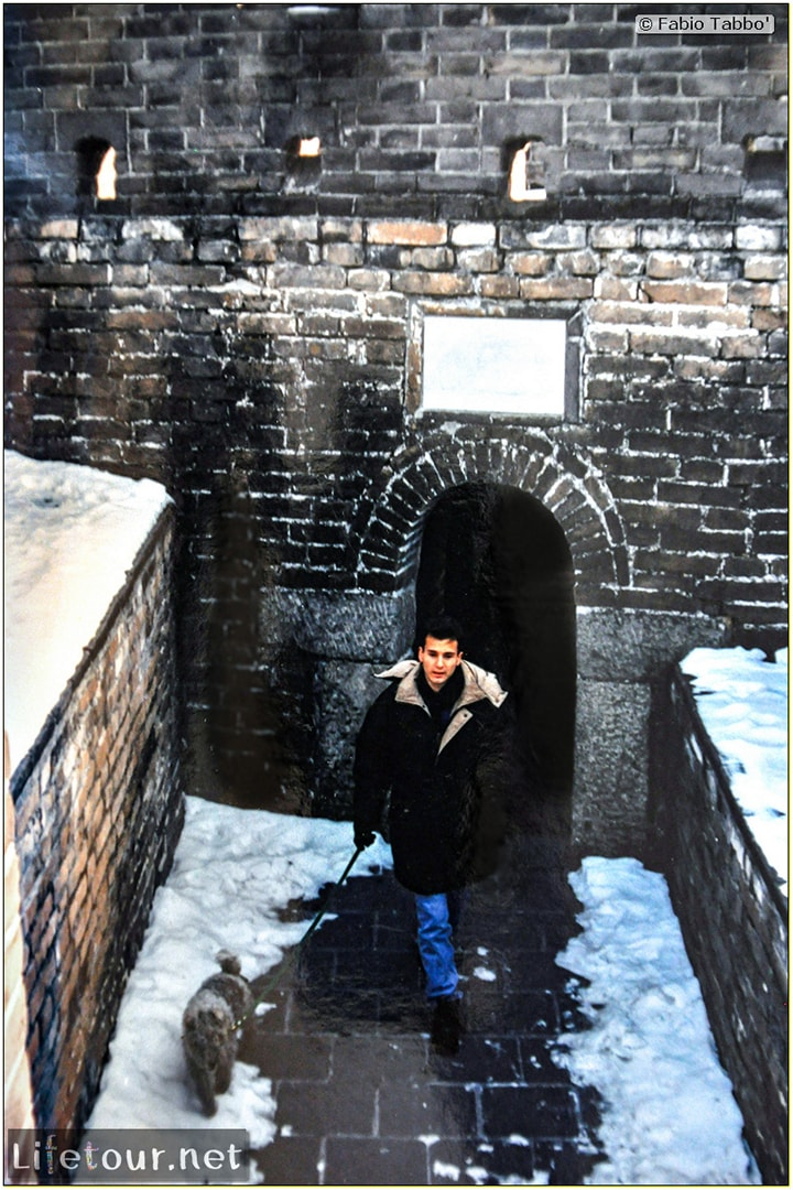Fabio's LifeTour - China (1993-1997 and 2014) - Beijing (1993-1997 and 2014) - Tourism - Great Wall (1993) - 4000